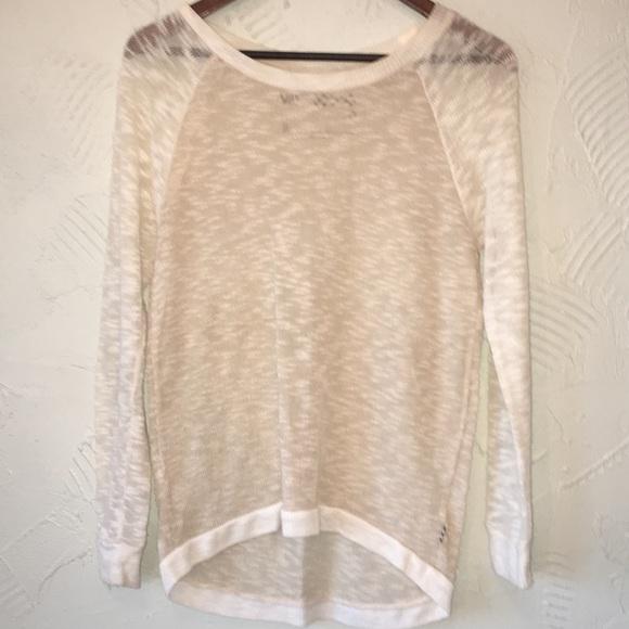 vans beige sweater